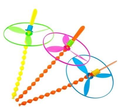 [協貿國際]  創意小玩具手推飛碟飛天輪旋轉竹蜻蜓 (30個價)