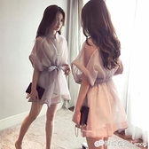 早春大碼女裝年新款微胖mm顯瘦穿搭兩件套裝洋裝子chic夏潮 檸檬衣舍
