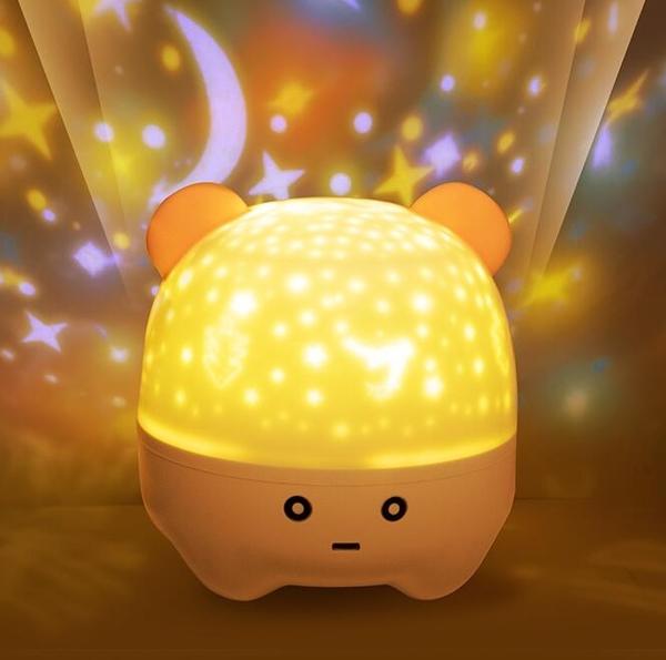 星空燈 星空燈投影儀女孩夢幻浪漫滿天星兒童玩具生日禮物臥室音樂小夜燈【快速出貨八折鉅惠】