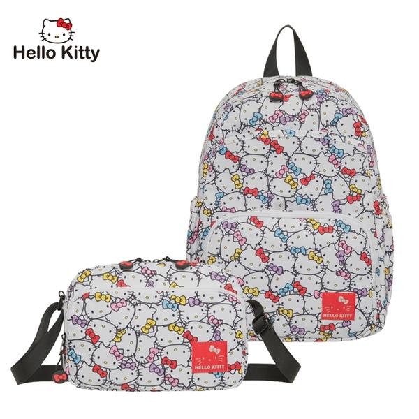 【橘子包包館】Hello Kitty 後背包+側背包 2件組 KT01V07WT KT01V02WT 白