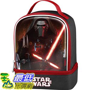 [美國直購] Thermos K35215006 星際大戰 原力覺醒 兒童午餐袋 午餐包 Star Wars Episode VII Dual Compartment