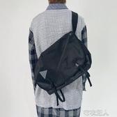 2020新款男女斜挎包機能潮牌大容量單肩包百搭工裝背 布衣潮人