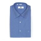 【南紡購物中心】【PIERRE BALMAIN 皮爾帕門】長袖襯衫-深藍條紋(F1)