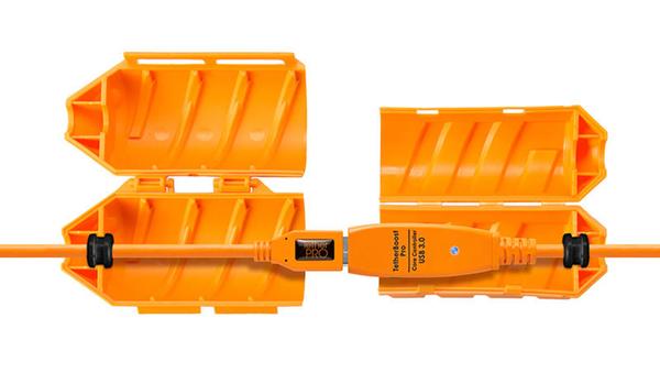 ◎相機專家◎ Tether Tools JS026ORG JerkStopper 延長線保護蓋 傳輸線 保護蓋 公司貨