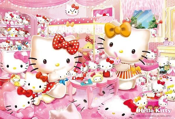 【拼圖總動員 PUZZLE STORY】收藏室 日本進口拼圖/Beverly/Hello Kitty/300P