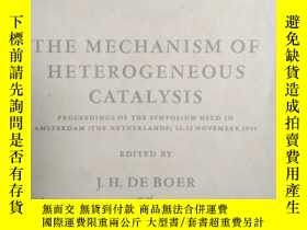 二手書博民逛書店THE罕見MECHANISM OF HETEROGENEOUS