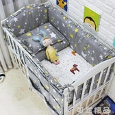 純棉床床圍床上用品定做嬰幼兒床品件套卡通防撞床幃套件 可然精品