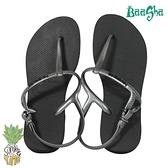 Havaianas哈瓦仕 羅馬鞋 黑銀款