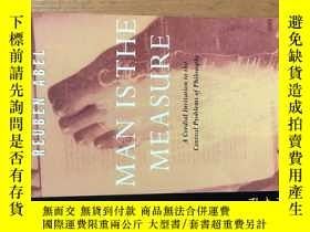 二手書博民逛書店Man罕見is the Measure ( A Cordial