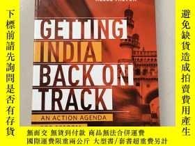 二手書博民逛書店Getting罕見India back on Track:AN ACTION AGENDA FOR REFORM[