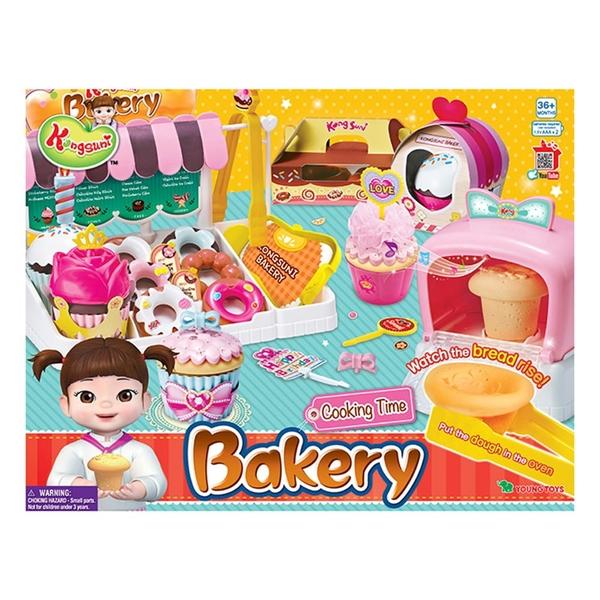 特價 KONGSUNI 小荳娃娃 繽紛麵包店_YT31046