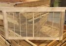 搖蜜機 隔王板中蜂立式隔王板蜂具養蜂工具蜂箱巣框巢礎搖蜜機養蜂工具【快速出貨八折鉅惠】