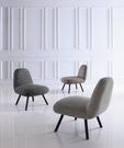 【南洋風休閒傢俱】設計單椅系列-星巴克餐椅 低調品味鐵腳休閒椅 JX436-7-8