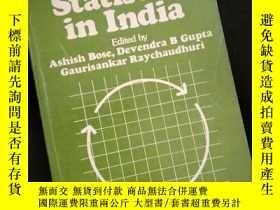 二手書博民逛書店Population罕見Statisics in lndia (英文)Y16149