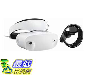 [107美國直購] Dell - Visor Virtual Reality Headset and Controllers for Compatible Windows PCs