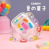 可愛糖果AirPods保護套流沙適用蘋果1/2代無線藍芽 【快速出貨】