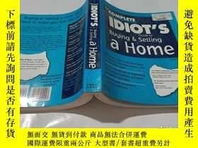 二手書博民逛書店the罕見complete idiot s guide to buying &selling a homeY9