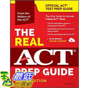 [美國直購] 2016美國暢銷書 The Real ACT Prep Guide (Book + Bonus Online Content)