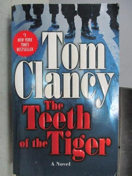 【書寶二手書T9/原文小說_CJF】The Teeth of the Tiger_Tom Clancy