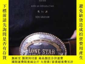 二手書博民逛書店Lone罕見Star Literature: A Texas A