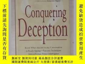 二手書博民逛書店英文原版罕見Conquering Deception by Je