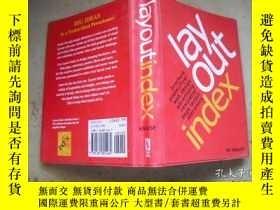 二手書博民逛書店layout罕見indexY205889 出版2001