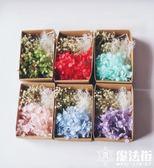 韓式新娘干花頭飾森女花朵發飾結婚配飾 魔法街