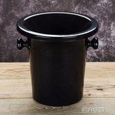 香檳桶 塑料吐酒桶 紅酒桶 香檳桶 盲品桶冰桶冰粒黑色 酒會時尚酒桶 第六空間