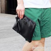 新款手包 日韓男式手拿包復古手提包  朵拉朵衣櫥