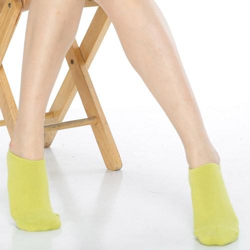 【南紡購物中心】【KEROPPA】可諾帕網狀造型女船襪x4雙C97001果綠