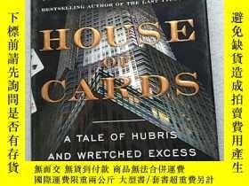 二手書博民逛書店house罕見of cards(a tale of hubris