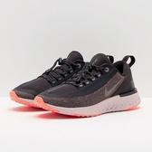 NIKE W ODYSSEY REACT SHIELD 灰 橘 運動休閒 慢跑鞋 女鞋 反光 AA1635-002