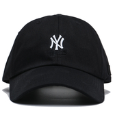 MLB 創信代理 洋基隊 黑 白刺繡LOGO 可調扣帽 男女 (布魯克林) 5762004900