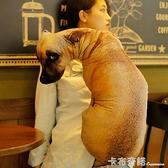 創意個性抱枕 超丑公仔少女床上搞怪可愛毛絨玩具狗狗搞笑