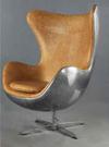 【南洋風休閒傢俱】設計單椅系列 - 鋁皮鉚釘蛋椅 Egg Chair 經典休閒椅 蛋椅 復刻椅(504-3)
