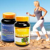 [油刃有餘組]營養生活葡萄糖胺加強錠+乳油木果軟膠囊