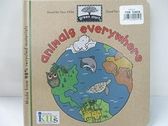 【書寶二手書T1/兒童文學_H1G】Animals Everywhere_Pluta, Lillian/ Phillips, Jillian (ILT)