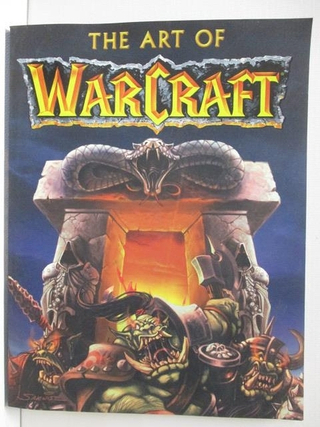 【書寶二手書T5/電玩攻略_JPQ】The Art of Warcraft