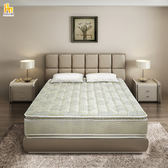 ASSARI-珍藏莫妮卡蜂巢式乳膠強化側邊獨立筒床墊(雙人5尺)