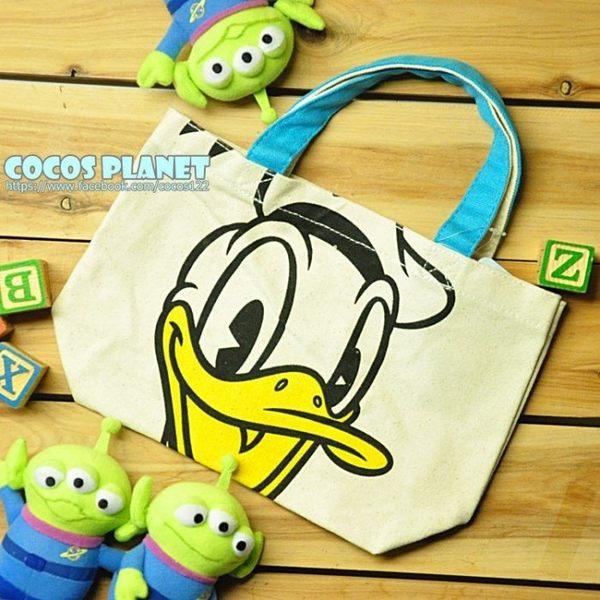 迪士尼手提袋 唐老鴨 手提袋 收納袋 便當袋 餐袋 購物袋 托特包 COCOS DK280