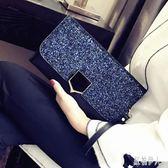 2019新款宴會名媛信封手包韓版個性時尚百搭氣質手拿包女潮 aj8154『紅袖伊人』