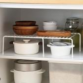 置物架  可伸縮廚房置物架廚房多層收納單層架鍋架儲物調料架【限時八五鉅惠】