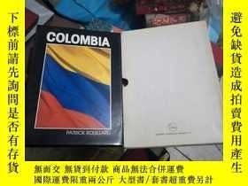二手書博民逛書店COLOMBIA罕見patrick rouillard 哥倫比亞