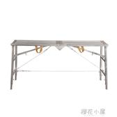 摺疊多 裝修馬凳便攜升降腳手架工程加厚刮膩子行動平台梯子QM 『櫻花小屋』
