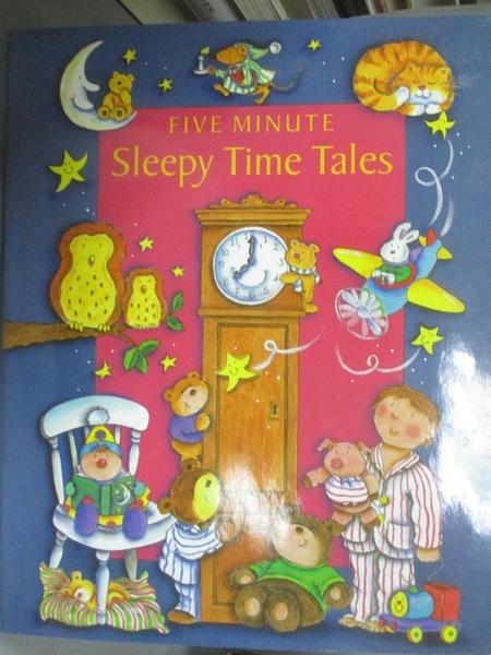 【書寶二手書T1/兒童文學_WFX】Five Minute Sleepy Time Tales_Derek Hall