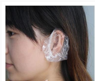 [協貿國際]一次性塑料耳罩 防水耳套焗油染發1包入