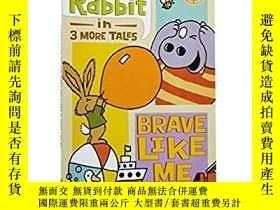 二手書博民逛書店學樂讀者系列罕見Hippo and Rabbit in Brav