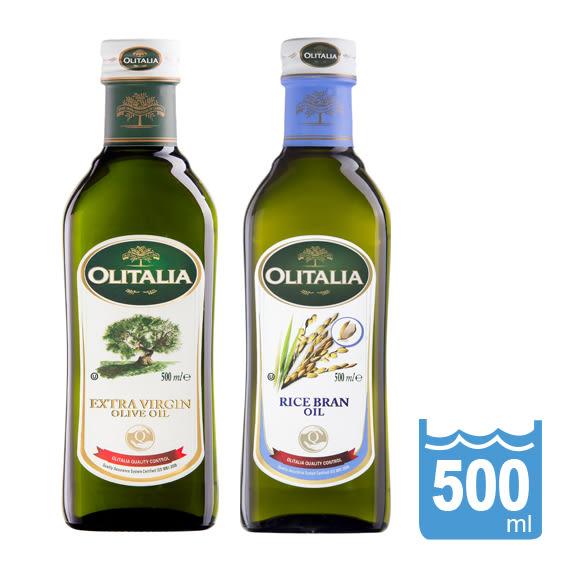 【Olitalia奧利塔】特級橄欖油+玄米油500ml