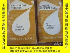 二手書博民逛書店wuthering罕見heights+a dream of jo