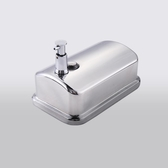 澳莎 洗手液瓶掛壁皂液盒不銹鋼皂液器手動給皂器 不銹鋼洗手液器